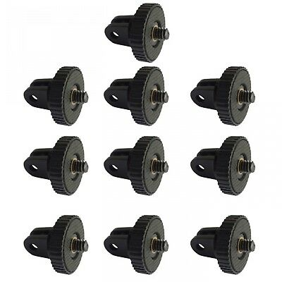 10Pcs/Lot 1/4'' Thread Mini Tripod Screw Mount Adapter For Action Camera Gopro