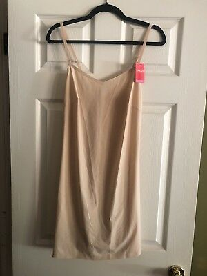 7f8a6ca1c2b5ea NEW with Tags Spanx Thinstincts Convertible Slip XL / TG Extra Large Nude  $78