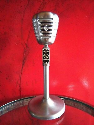 Vintage RARE 1940's Packard bell Phonocord dynamic microphone Universal D-20-H