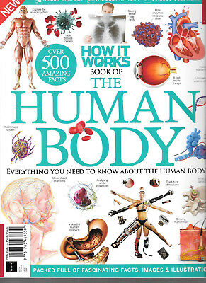 HOW IT WORKS Book of the Human Body (10th Edition) FACTS IMAGES & ILLUSTRATIONS