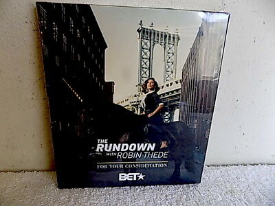 The Rundown Dvd $Et Robin Thede  2018 New Factory Sealed Bet Tv Emmy Screener