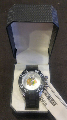 09f3b6c3347 Game Time Beast Sport Chicago Blackhawks Watch Wristwatch Men's NEW In Box