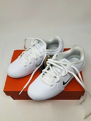 c046302bc3adc7 Nike Kids Cheer YA Sideline III Shoes White with Color Inserts Size 12C