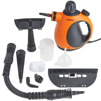 Electric Portable Steam Steamer Cleaner Hand Held Bathroom Home Glass Tiles Sofa