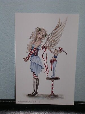 Amy Brown - An Angel Get Her Wings - Mini Print