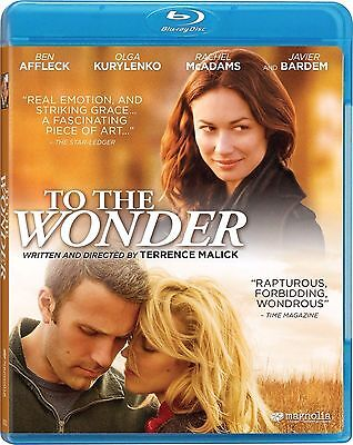 To the Wonder (Blu-ray, 2012) Brand New Factory Sealed