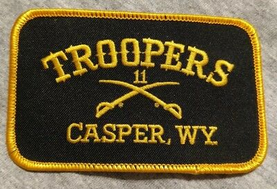 Troopers Drum And Bugle Corps Embroidered Souvenir Patch Casper Wyoming