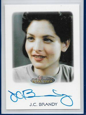 2017 Women of STAR TREK 50th Anniversary Autograph - J C BRANDY