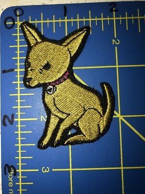 Chihuahua Dog Puppy Pet Patch Taco Bell Legally Blonde Mexico Canine