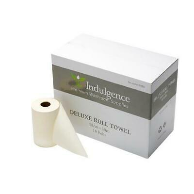 16-32 X Premium Paper Hand Towels Towel Roll Industrial Kitchen Clean White 80mt