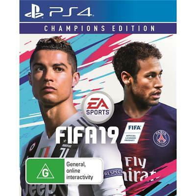 EA SPORTS FIFA 19 Champions Edition PlayStation 4 PS4 GAME BRAND NEW FREE POST