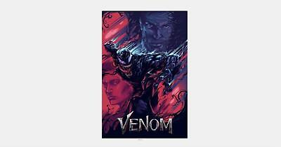 Y-1378 Venom Movie 27x40 24x36 Hot Poster Tom Hardy Marvel Comics Art Film