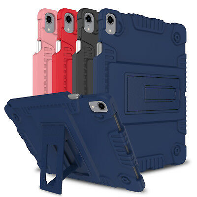 For iPad Pro 11 inch 2018 Shockproof Kickstand Silicone Case With Pencil Holder