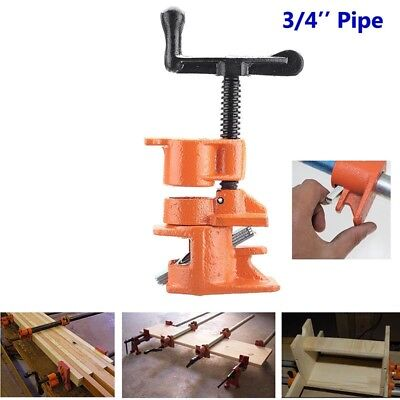 1/2 3/4inch Wood Gluing Pipe Clamp Set Cast Iron Heavy Duty Woodworking Carpente