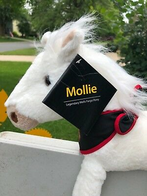 2008 Legandary Wells Fargo Pony-Mollie With Tags And Scarf Buy Her Today