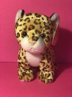 aff9c5dd709 TY BEANIE BABY LEELO - the Leopard -  10.50
