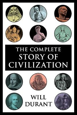 The Complete Story of the Civilization by  Durant 11 volumes E-book PDF