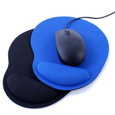Ergonomic Comfort Wrist Support Mouse Pad Mice Mat Computer PC Laptop Non Slip @