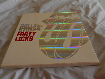 The Rolling Stones - Forty Licks [Collector's Edition] (CD, Oct-2002, 12x12 box