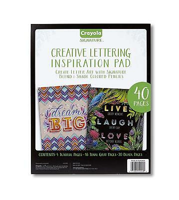 Crayola Chalkboard Hand Lettering Tutorials and Worksheets for Beginners B1