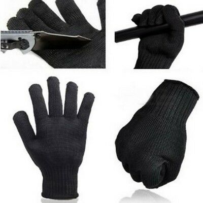 Safety Butcher Cut Proof Stab Resistant Stainless Steel Metal Mesh Wire Gloves