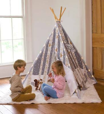 Winter Woodland 4-Pole Teepee Special with LED lights
