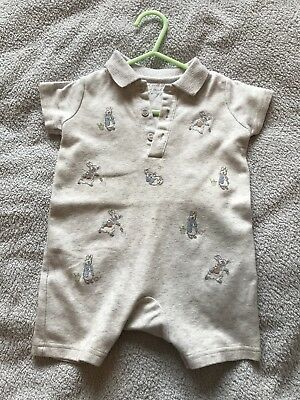 b40f56381719 PETER RABBIT BABY Romper Baby 1st Outfit Newborn BRAND NEW WITH TAGS ...