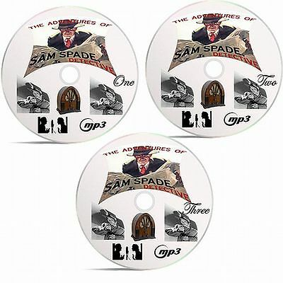 The Adventures Of Sam Spade Old Time Radio Detective Series On 3 CDs MP3 Format