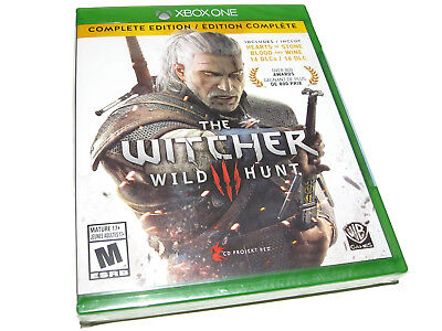 The Witcher 3 III: Wild Hunt - Complete Edition (Microsoft Xbox One) - NEW!