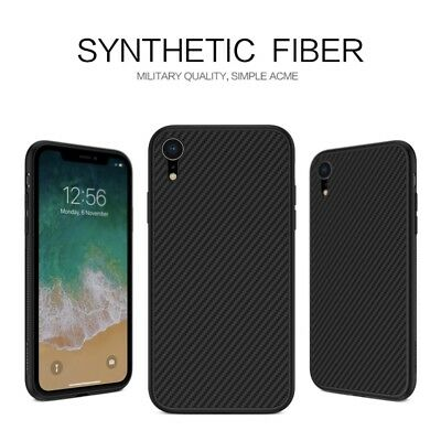 NILLKIN Synthetic Fiber Hard Case Cover for iPhone XR 6.1 inch