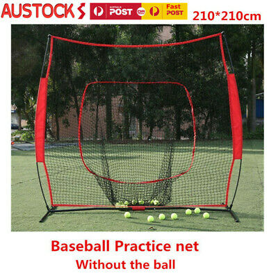 210*210cm Portable Baseball Practice net Training Net Tennis Net Outdoor Yard