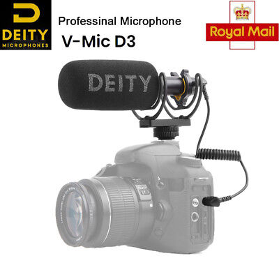 Deity V-Mic D3 Microphone Superior Off-axis sound performance cardioid pattern