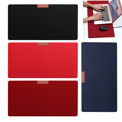 Large Felt Cloth Gaming Mouse Pad Extended Big Size Desk Laptop Mat Mousepad NEW