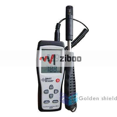Smart Sensor AS847 Humidity&Temperature Meter 2in1 K Type Thermocouple.