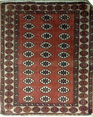 Tapis Persan Traditionnel Oriental hand made 75 cm x60 cm  N° 83