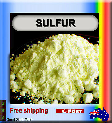Au Seller Pure Sulfur Powder High Quality Sulphur Soap Candle Rubber Curative