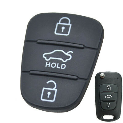 3 Button Pad For Kia Soul Picanto Rio Sorento Ceed Sportage Remote Key Fob Shell