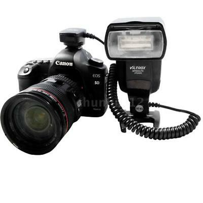 Viltrox 1.5m OC-E3 TTL Off-Camera Flash Hot Shoe Sync Cord Cable Fr Canon Camera
