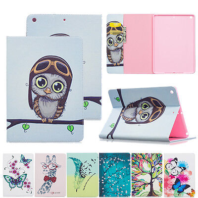 For iPad 9.7 2018 A1893 A1894/ 2017 9.7 A1822 A1823 PU Leather Case Cover Stand