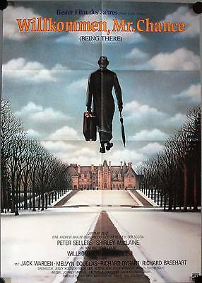 Willkommen Mr. Chance Filmposter Being There Peter Sellers, Shirley MacLaine