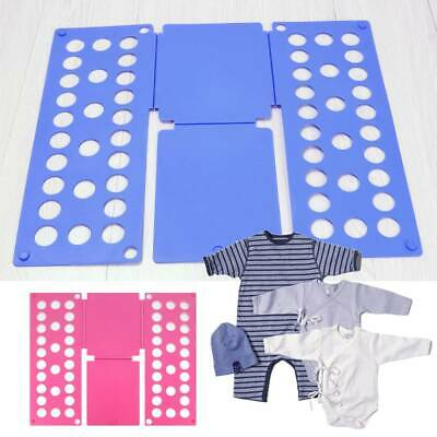 Child Magic Clothes Folder T Shirts Jumpers Organiser Fold Laundry Suitcase Easy