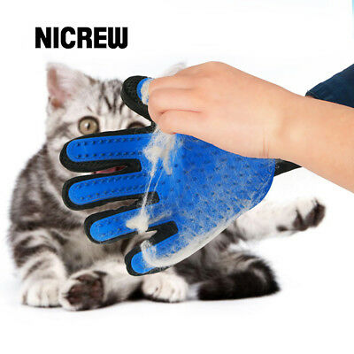 Cleaning Brush Pet Dog Cat Massage Magic Glove Hair Removal Grooming Groomer