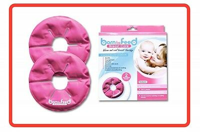 ❤ Born To Feed Breast Care - Warm and Cold Specially Designed Breast Pads 2 Pads
