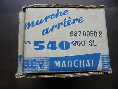 MARCHAL 540 .(neuf)