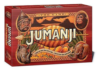 Jumanji Board Game Perfect Family Board Game For Kids/Children - Christmas Gift
