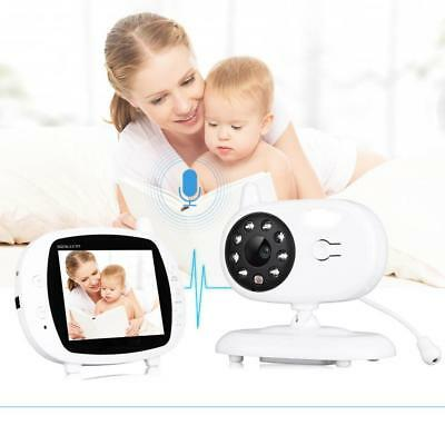2.4 GHz 2-Way Talk Digital Wireless Baby Monitor Night Vision Video Audio Camera