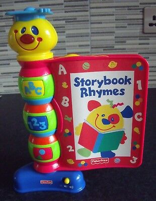 Bnip Fisher Price Story Book Rhymes Educational