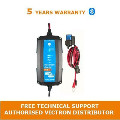 Victron Energy Blue Smart IP65s Battery Charger 12/4(1) 230V & Battery Indicator