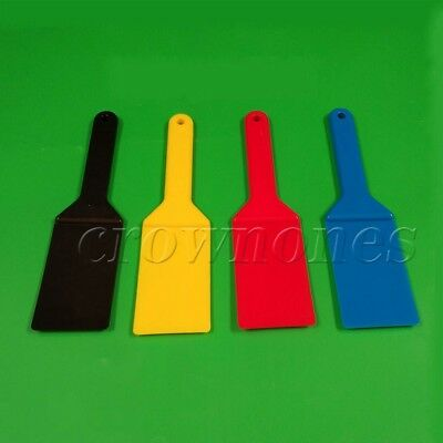 3 Colors Ink Spatulas Screen Printing Plastic Blade  Ink Apply Shovel Tools