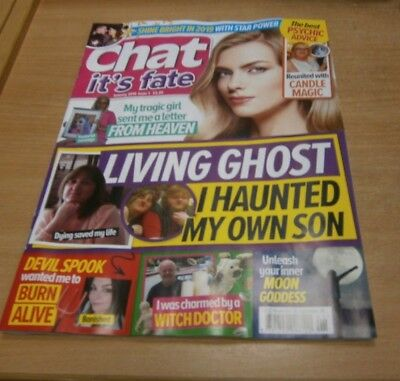 Chat It's Fate magazine #1 JAN 2019 Inner Moon Goddess, Charmed by Witch Doctor
